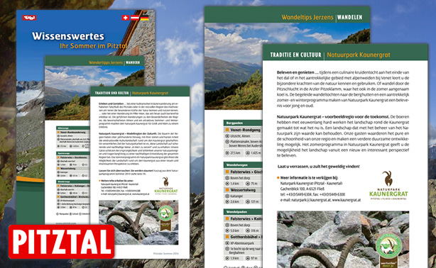 Pitztal – Information booklet